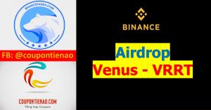 Binance Airdrop Venus VRT