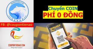 Hướng dẫn sử dụng Binance Pay để chuyển tiền ảo